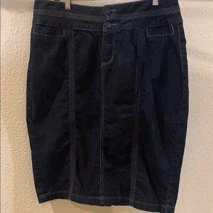 Lane Bryant Venezia Denim Skirt - 20W